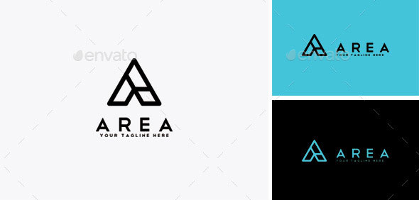 Area - Letter A Logo