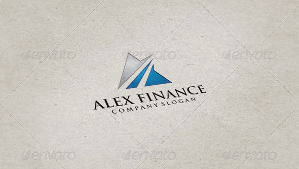 Alex Finance Logo Template