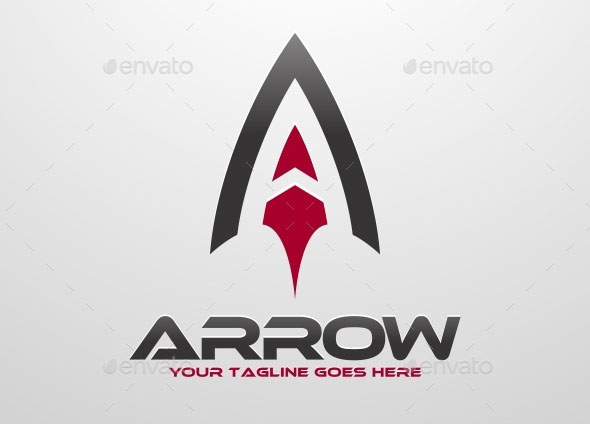 Arrow A Letter Logo
