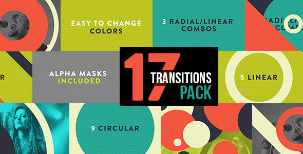 Graphic Transitions 17 Pack