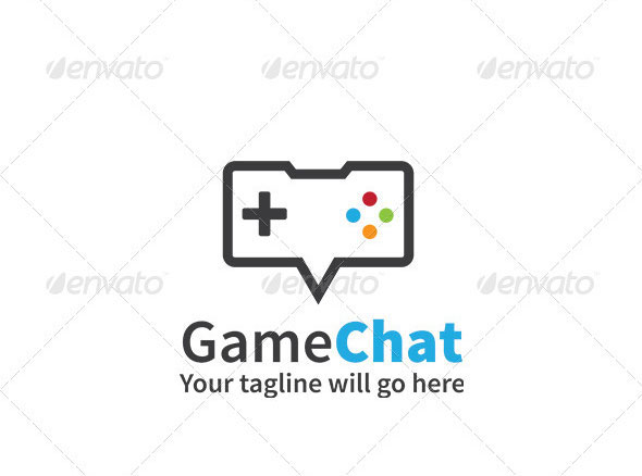 Gaming Logo - Game Chat