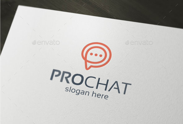 Pro Chat - Logo Template