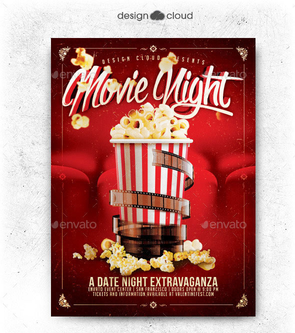 Movie / Dat Night Flyer Template