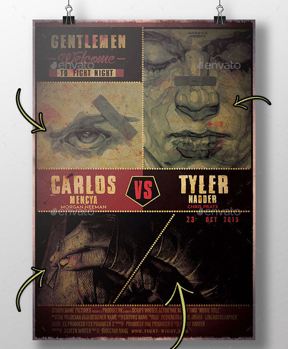 Fight Night Movie Poster