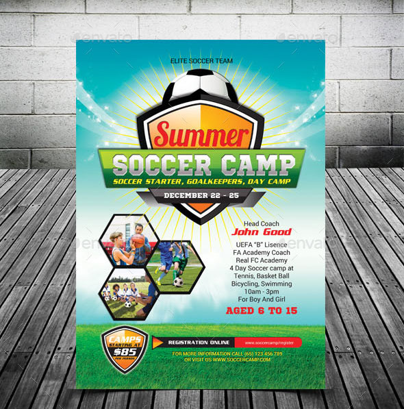 Kids Summer Soccer Camp