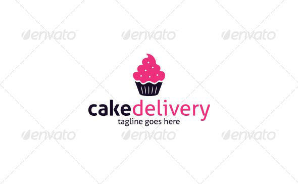 Cake Delivery Logo