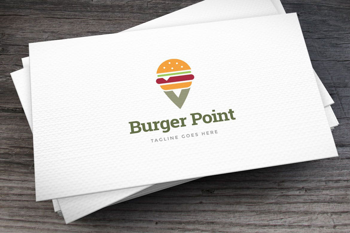 Burger Point Logo Template