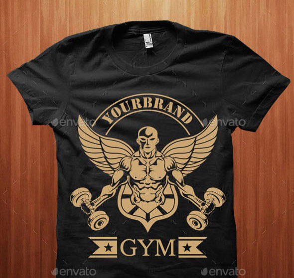 Shirt Designs for Gymnastics and Bodybuilders