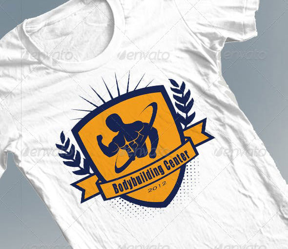 Bodybuilding Center Tshirt